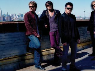обои Рок группа Bon Jovi фото
