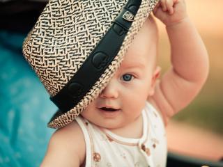 обои Моя стильная шляпа фото