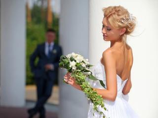 обои Нежная невеста фото