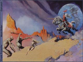обои Frank Frazzetta - Moon Rider фото