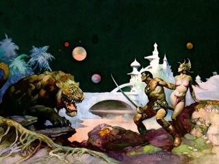 обои Frank Frazzetta - Thuvia, Maid of Mars фото