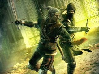 обои Сражение мечом фото