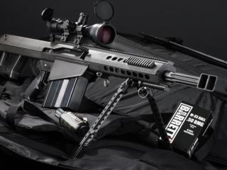обои Снайперская винтовка в чехле фото