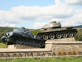 обои Танк  т-34  памятник фото