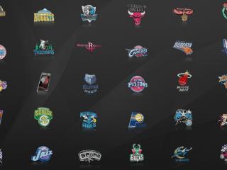 обои Logo basketball логотипы баскетбольных команд фото