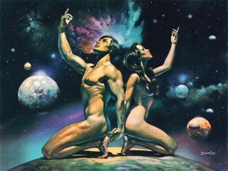 обои Boris Vallejo - Reaching for the Stars фото