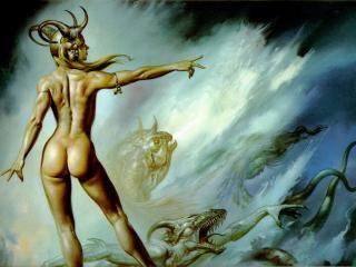 обои Boris Vallejo - Lilith фото