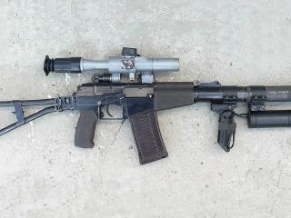 обои Бесшумный  специальный автомат  9-мм,   для спецназа фото