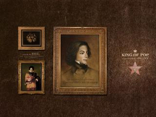 обои Майкл джексон  king of pop фото