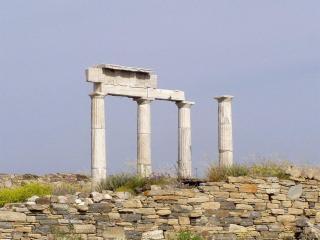 обои Последние следы древней архитектуры фото