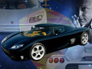 обои Немецкий спорткар Koenigsegg фото