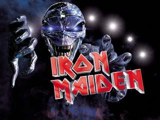 обои Ужасный Iron Maiden фото