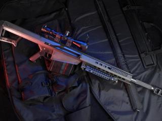 обои Снайперская  винтовка,   barrett m82 фото