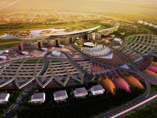 обои Олимпийский городок вид сверху фото