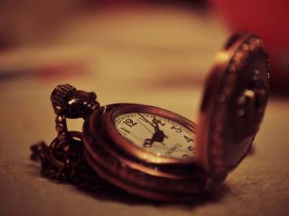 обои Карманные открытые Часы фото