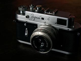 обои Старый фотоаппарат зоркий 4 фото