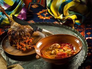 обои Ужин в азии фото