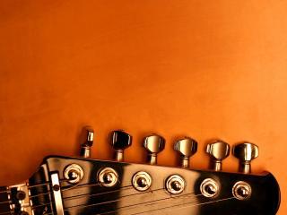 обои Часть шестиструнной гитары фото