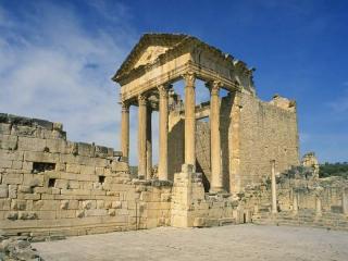 обои Развалины древнегреческого храма фото