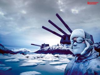 обои Арктическая война фото