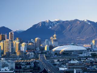 обои Зимний Ванкувер фото