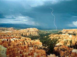 обои Грозовой пейзаж фото