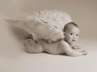 обои Маленький ангелок фото