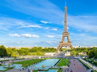 обои Живописный город Париж фото