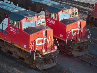 обои Красные локомотивы фото