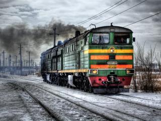 обои 2TE10U Русский локомотив фото