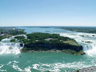 обои Панорама Ниагарского водопада фото