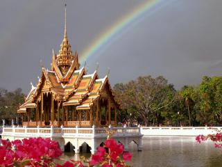 обои Дворец Тайланда фото