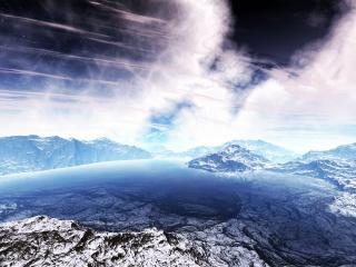 обои Горы,   небо фото