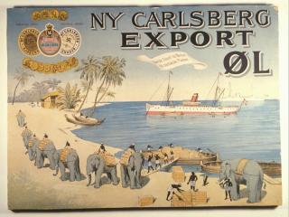 обои Реклама пива Carlsberg в Америке фото
