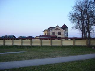 обои Частный дом,  красивый как замок в Саласпилсе фото