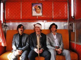 обои Трое в вагоне фото