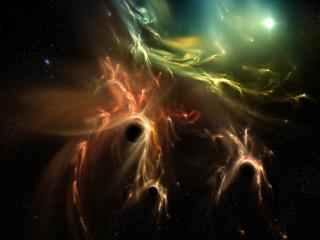 обои Космические всполохи каспериума фото
