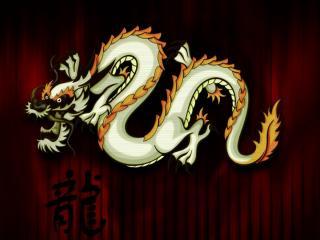 обои Волшебный дракон фото