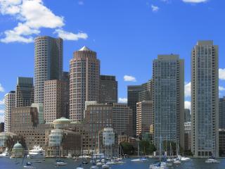 обои Вид на Бостон фото
