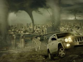обои Апокалипсис над Вашингтоном фото