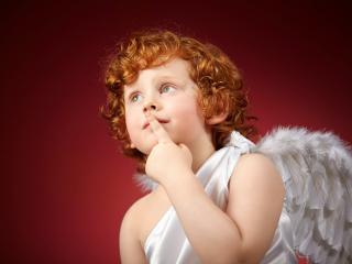 обои Рыжеволосый Ангел фото