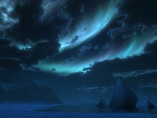 обои Загадочное ночное небо фото