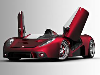 обои Красный авто трансформер фото