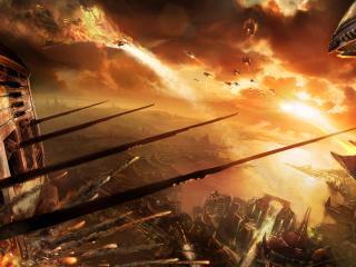 обои Межпланетная война фото