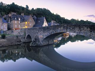 обои Dinan Bretagne. Франция фото