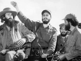обои Fidel castro,   повстанцы,   революция на Кубе фото