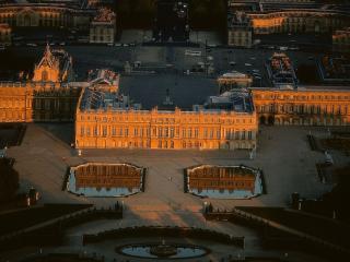 обои Город Версаль. Вечерний вид. Франция фото
