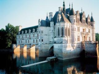 обои Замок Шенонсо. Долина Луары. Франция фото