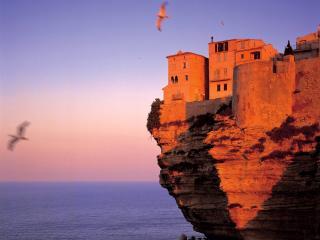обои Крепость Бонифацио. Корсика фото