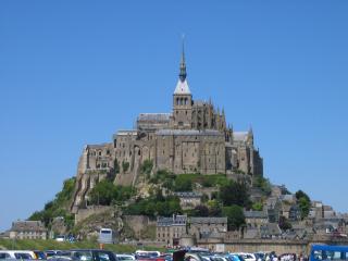 обои Мон-Сен-Мишель. Гора Св. Михаила. Франция фото